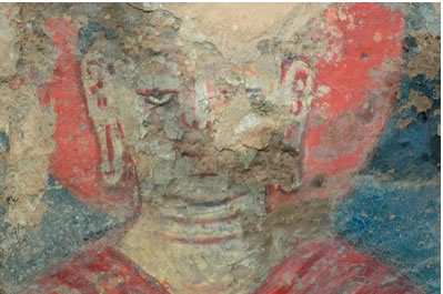 oil painting bamiyan